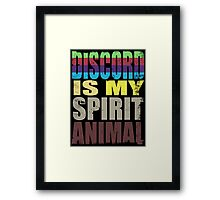 Discord is my Spirit Animal Framed Print