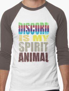 Discord is my Spirit Animal Men's Baseball ¾ T-Shirt