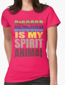 Discord is my Spirit Animal Womens Fitted T-Shirt