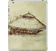 Da Vinci's tank iPad Case/Skin