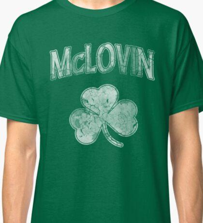 McLovin Irish Shamrock Classic T-Shirt