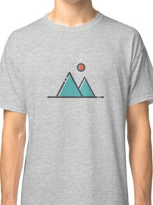Sun and Mountains Classic T-Shirt