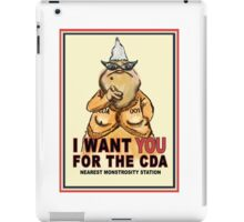 Roz Wants YOU for the CDA iPad Case/Skin