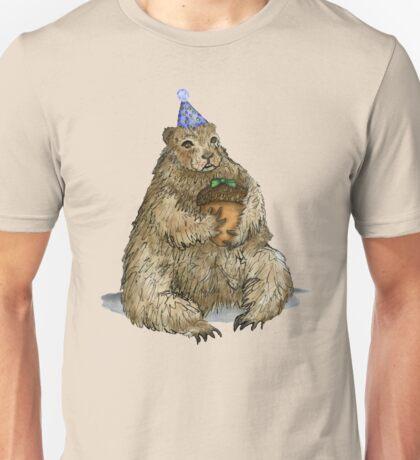 Groundhog Phil's Birthday Party Unisex T-Shirt