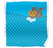 New York Squirrel Poster