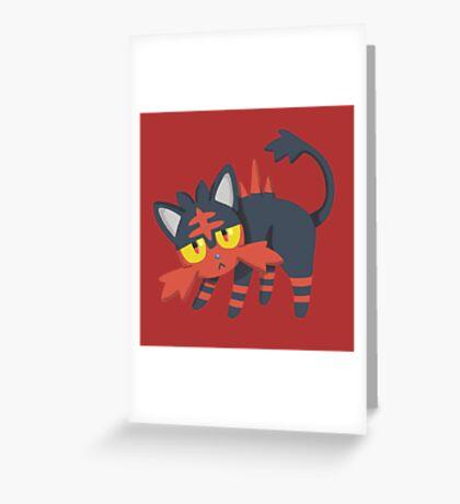 Litten Greeting Card