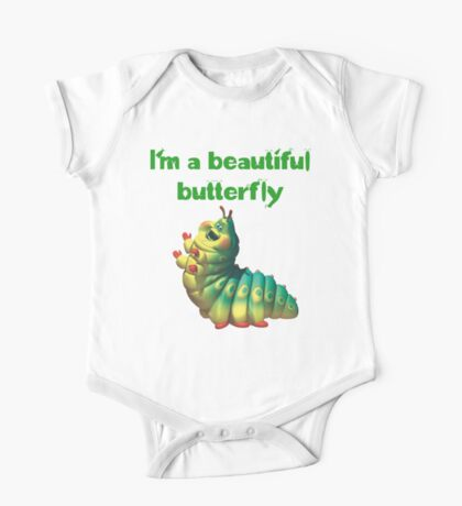 I'm a beautiful butterfly One Piece - Short Sleeve