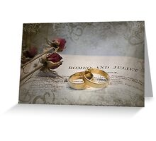 Romeo and Juliet - #3 Greeting Card