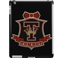 TomboyDandy Tshirt iPad Case/Skin