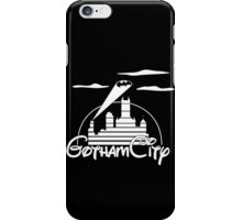 Gotham City White iPhone Case/Skin