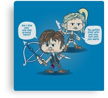 Daryl and Beth Canvas Print
