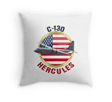C130 Hercules  Throw Pillow