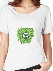 Green Man Front Isolated Women's Relaxed Fit T-Shirt