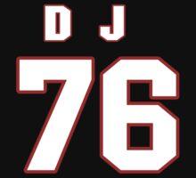 NFL Player D.J. Fluker seventysix 76 by imsport