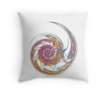 White Bubble  Throw Pillow