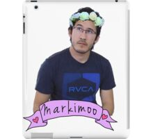 Markiplier (Level: Flower crown) iPad Case/Skin
