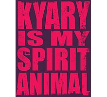 Kyary is my Spirit Animal (PINK) Photographic Print