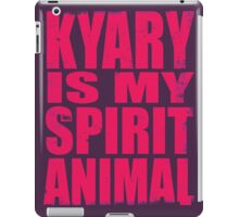 Kyary is my Spirit Animal (PINK) iPad Case/Skin