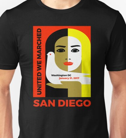 Women's March On San Diego 2017 Collectible  Unisex T-Shirt