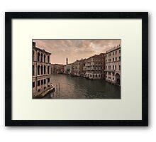 VENICE 09 Framed Print
