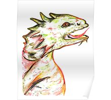 Little Green Dragon Poster