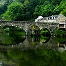 River Rance . Port Of Dinan. Brittany by hans p olsen
