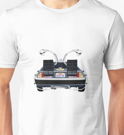 Back to the Future Delorean 'OUTATIME' Unisex T-Shirt