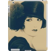 Nevermind vintage like art on brown background iPad Case/Skin