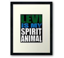 Levi is my Spirit Animal Framed Print