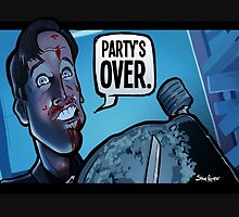 Party's Over Dead Alive by binarygod
