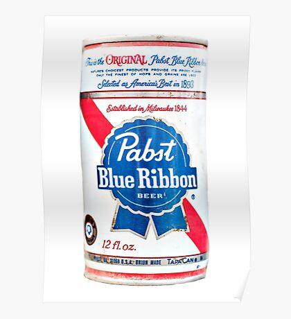 Vintage PBR - Pabst Beer Poster