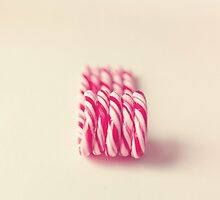 Christmas Candy Canes  by Nicola  Pearson