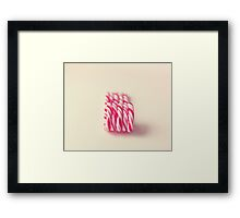 Christmas Candy Canes  Framed Print