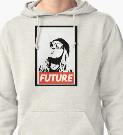 Future obey design Pullover Hoodie
