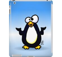 Pondering Penguin iPad Case/Skin