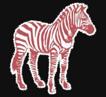 Candy Cane Zebra by darqenator