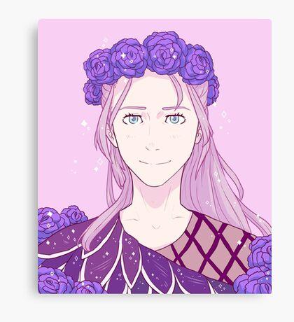 Yuri on Ice Victor or Viktor Nikiforov Long Hair Canvas Print