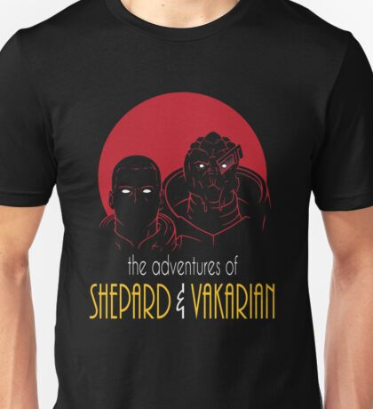 Adventures of BroShep and Vakarian Unisex T-Shirt