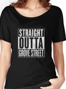 STRAIGH OUTTA GROVE STREET Women's Relaxed Fit T-Shirt