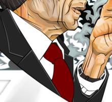 The Cigarette Smoking Man Sticker