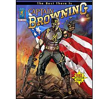 Captain Browning Photographic Print