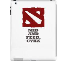 Mid and feed, cyka iPad Case/Skin