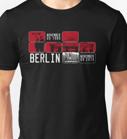 BERLIN WALL 25th Anniversary Unisex T-Shirt