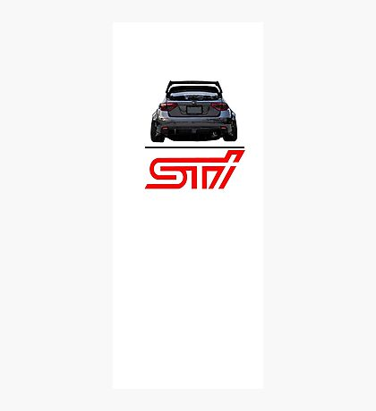 STI Hatchback ass Photographic Print