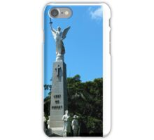 War Memorial Maryborough Qld Australia iPhone Case/Skin
