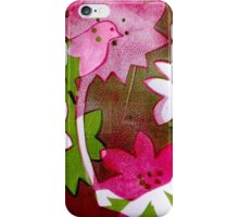 White butterfly country iPhone Case/Skin