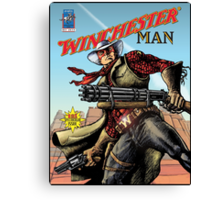 Winchester Man Canvas Print