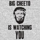 Big Cheeto Is Watching You by D & M MORGAN