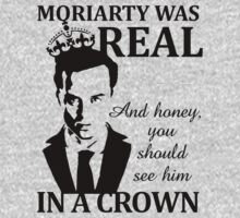 Moriarty Was Real Baby Tee