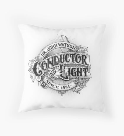 Conductor of Light Throw Pillow